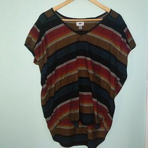 Cute Multicolored Striped Shirt